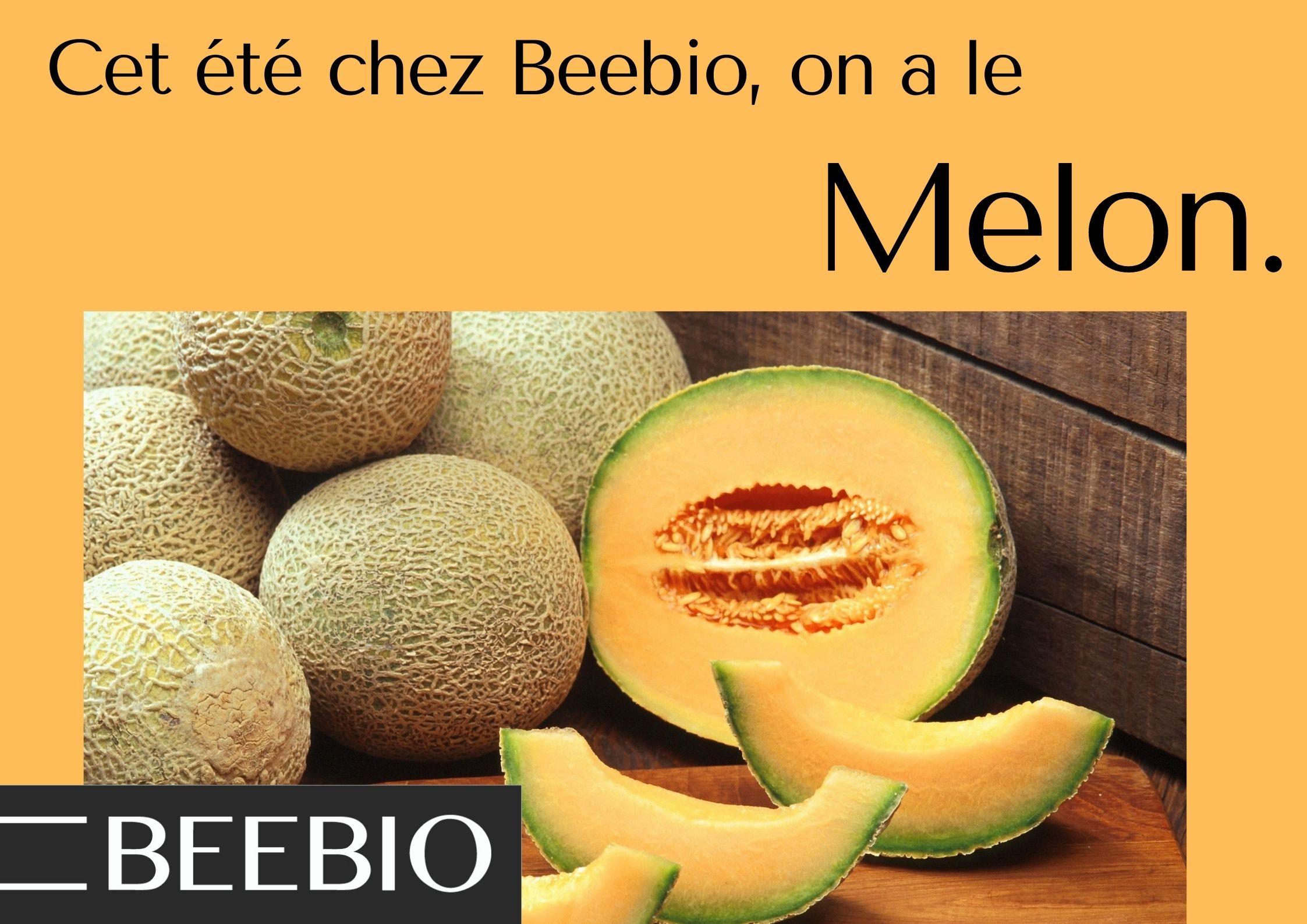 Melons français chez Beebio !